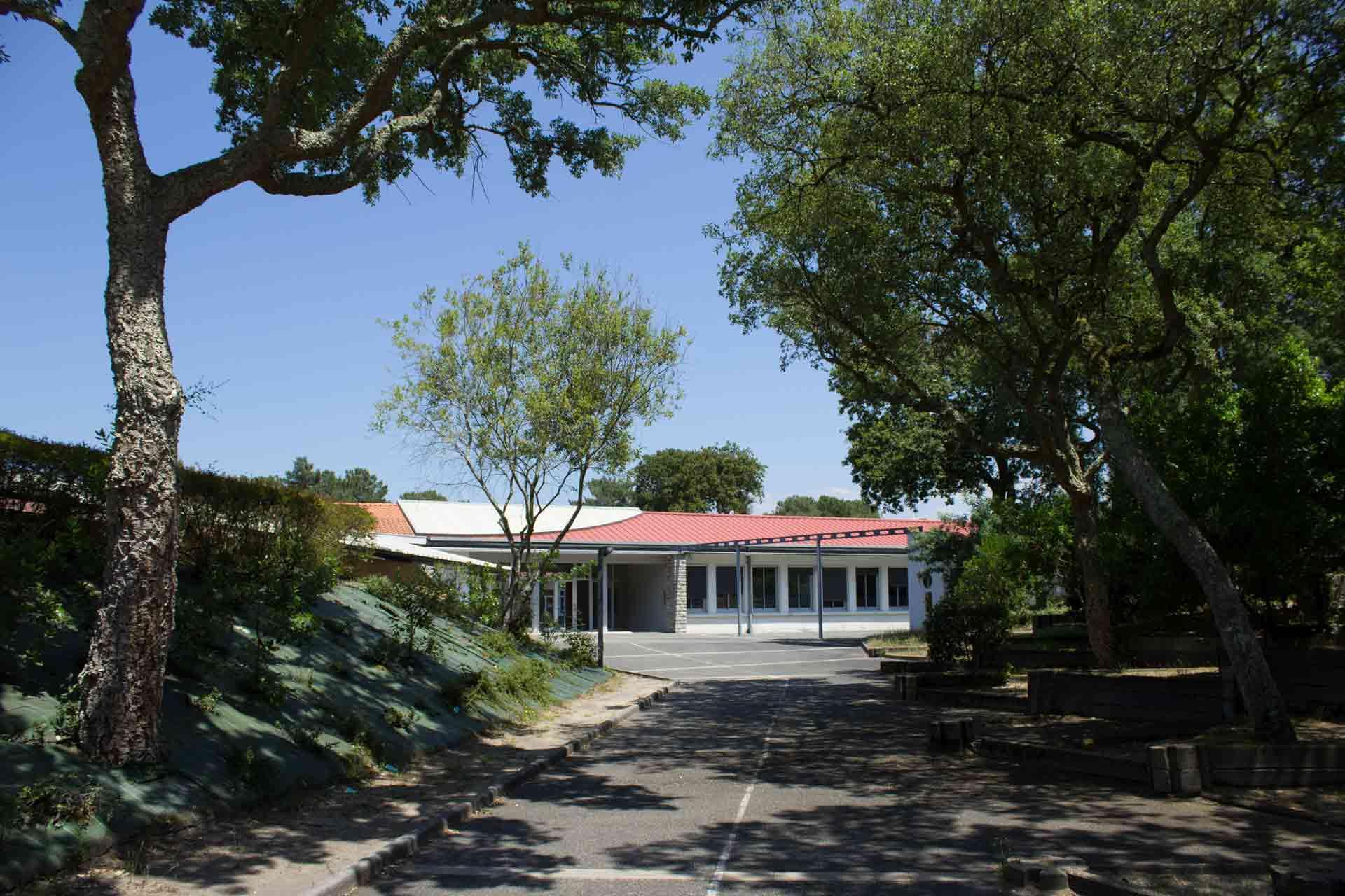 Collège Jean Rostand Capbreton - Entrée 2