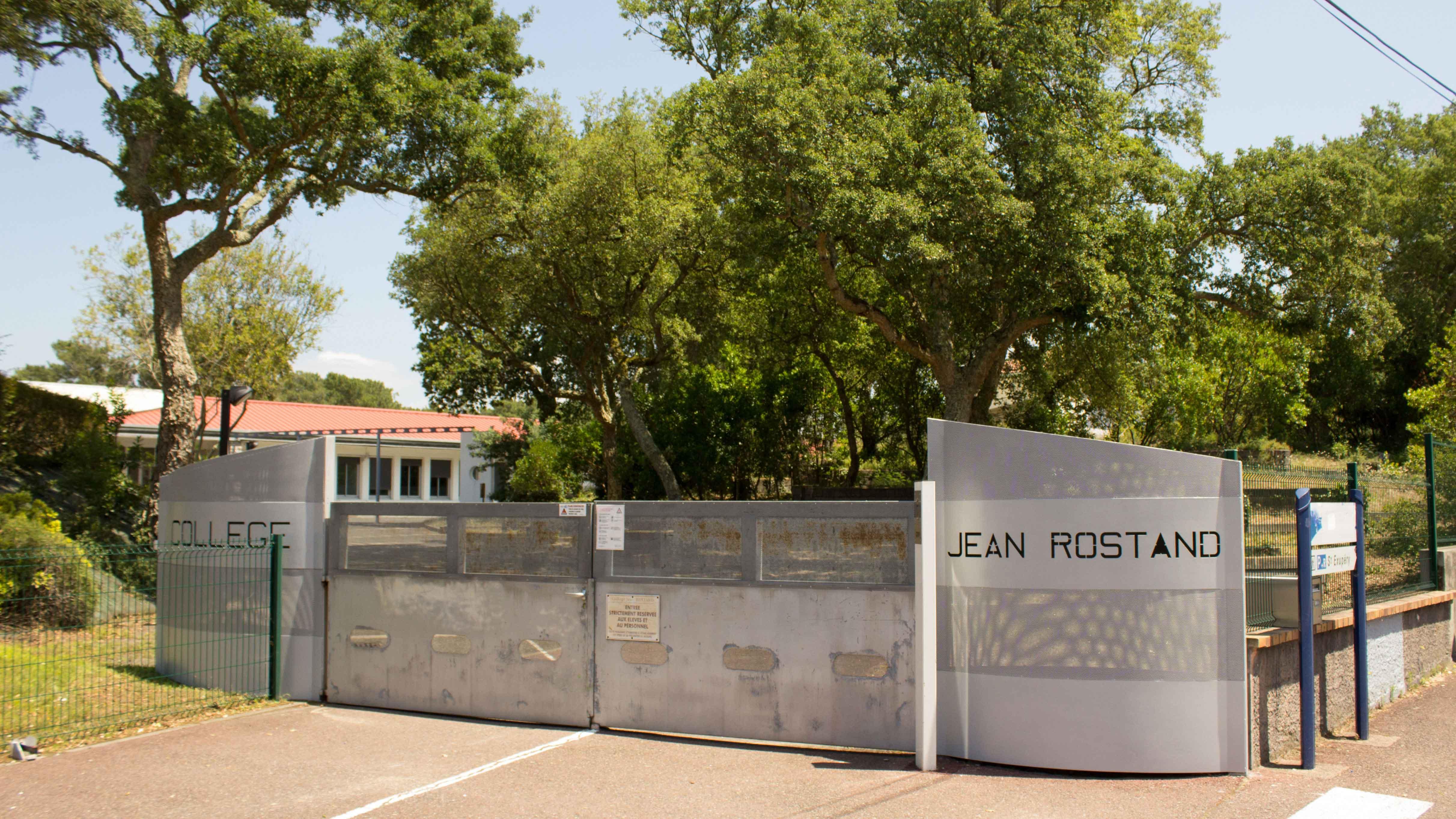 Collège Jean Rostand Capbreton - Entrée