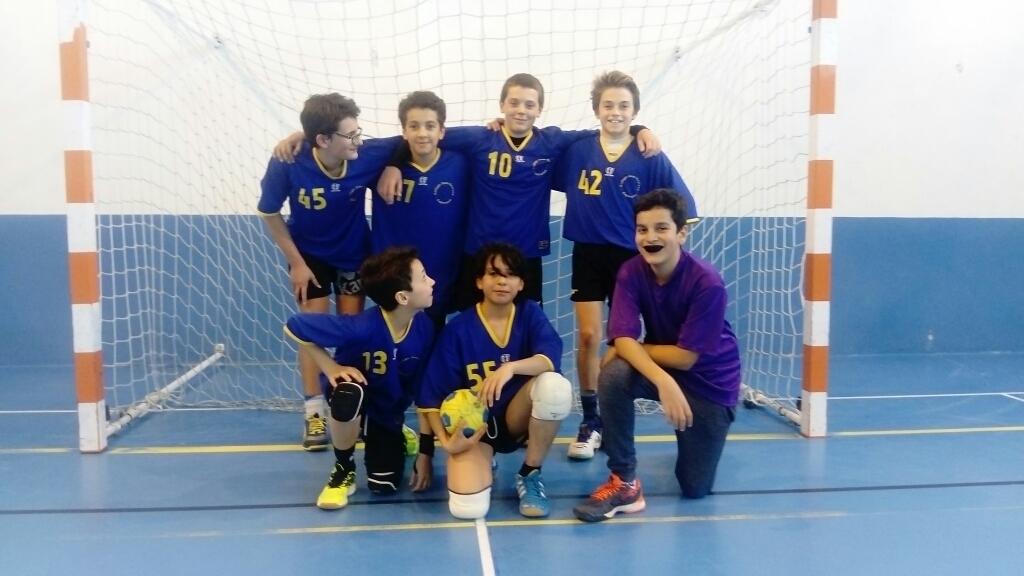 Champions Départementaux handball BG 2017 18